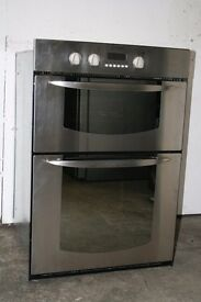 Indesit Built-In Double Oven Digital Display Excellent Condition Delivery and Install Available