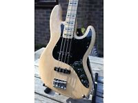 Fender American Jazz Bass Deluxe 2014 USA - immaculate - active, natural