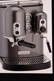 Kitchen Aid Artisan Espresso Machine - New, inbox, not used
