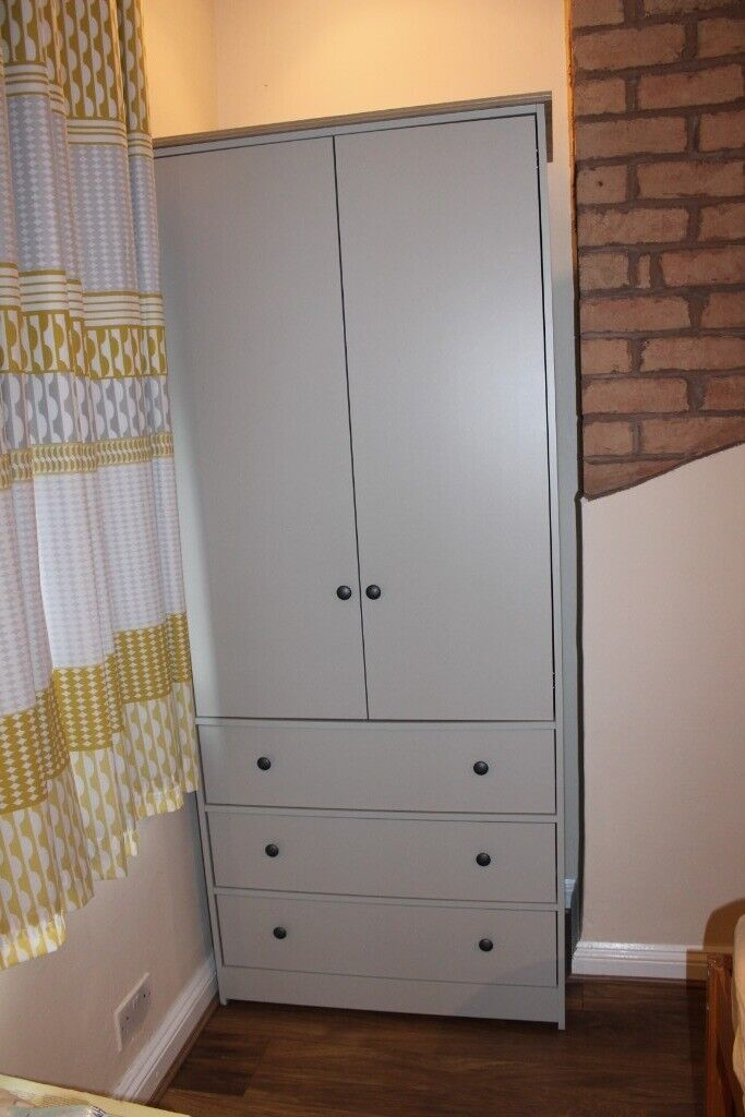 new arrival cc445 ff8d2 Argos Kensington Wardrobe 2 Door 3 Drawers Soft Grey RRP 210 Excellent  condition - RESERVED | in Stirchley, West Midlands | Gumtree