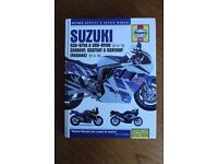 Haynes Workshop Manual for Suzuki Motorcycle