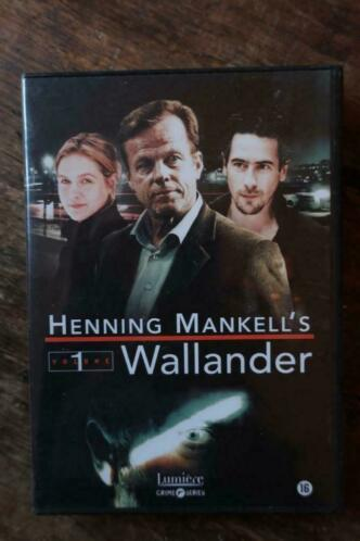 DVD-box SEIZOEN 1- Henning Mankell's Wallander