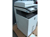 Sharp MX-4100N A4 Laser Colour Printer Photocopier Copier and Scanner