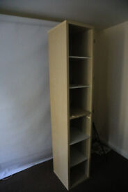 Ikea wooden bookshelf