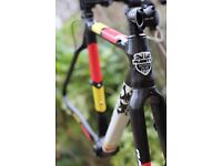 Planet X Pro Carbon XLS Cyclocross frame, fork + extras, less than 12 months old - OFFERS - RRP £799