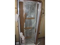 800mm Shower Enclosure - White - New
