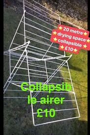 20 metre collapsible clothes airer