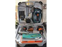 Black & Decker Quattro Cordless Drill, Jigsaw And Sander In Good Working Order