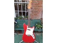 1962 Fender Musicmaster, no replaced parts. Original case.