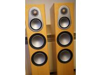 Monitor Audio Silver 300 Used Natural Oak Excellent Condition Collection Only