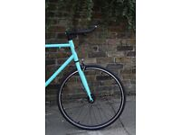NEW IN!! !!! Steel Frame Single speed road bike fixed gear racing fixie bicycle HYUJS
