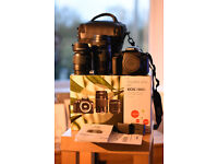 Canon 1300d double lens kit + accessories. Mint condition and almost new - £340