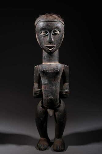 Art African Statue Koulango