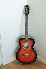 Acoustic guitar italian crafted with tuner and bag