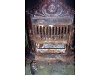 vintage wood burner