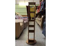 Medium tall multimedia revolving rack (from Cambridge Re-use, a Charity Organisation)