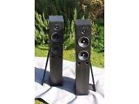 A Pair of Gale 30 3040 120w 4-8ohm Biampable Floorstanding Stereo Speakers