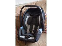 RECARO Privia Infant Group 0 Car Seat - Graphite - EXC. COND - low price for quick sale