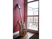 Ibanez S570SOL '00 Mahogany-body Electric Guitar w/ DiMarzio + Flight Case