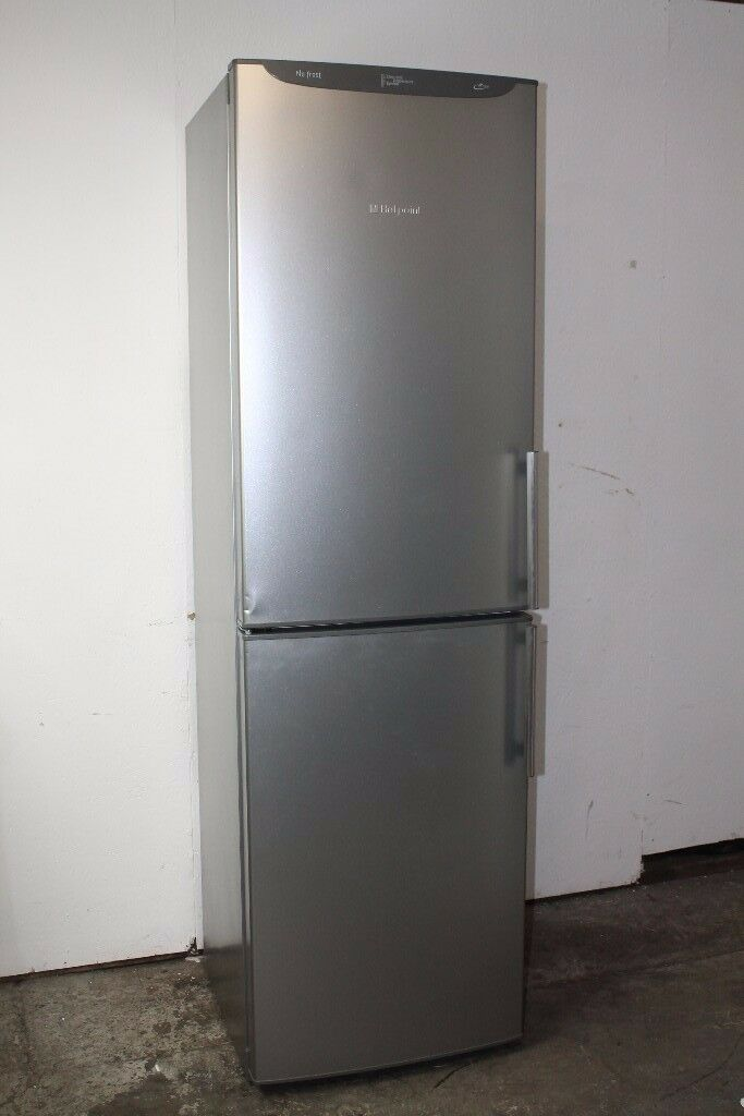Hotpoint Fridge Freezer 200cm Height Good Condition 6 Month Warranty Delivery Available