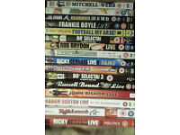 17 dvds of various comedians live or TV shows