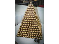 Ferrero Roche wooden pyramid for sale!