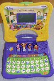 VTech Winnie the Pooh Play 'n Learn Laptop