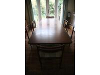 G-Plan Design Dining Suite (Table & 6 Chairs) - Teak (1960s original)
