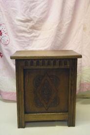 A beautiful ornate storage box