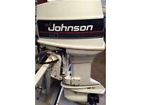 Johnson 60/70hp VRO Outboard - Power trim and Remotes
