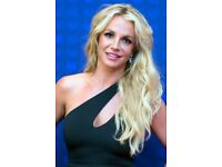 Britney Spears - London - 25th August - one seated ticket - £60