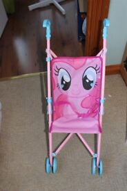 my little pony dolls pram/ buggy