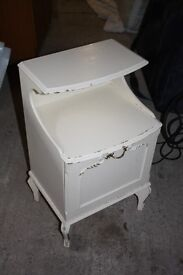 Shabby chic vintage style bathroom cabinet