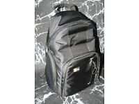 Case Logic camera bag rucksack backpack in black Excellent condition for Canon,Nikon,Sony,Fuji etc