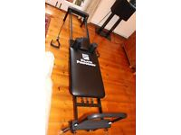 Pilates Performer Machine in excellent condition & Workout Chart