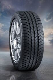2 GOODYEAR OPTIGRIP TYRES SIZE 205/55/ R16 V BRAND NEW with LABELS.