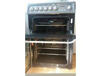 Hotpoint Ecotech electric double oven & gas hob