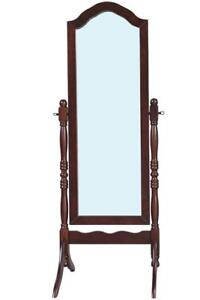 Standing Mirror In Dark Brown