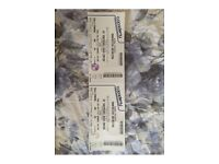 Manchester Orchestra tickets x2 Thursday 26th October Shepherds Bush