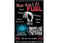 ONE NIGHT AT FUEL - A night you won't forget in a hurry