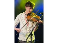 learn to play the fiddle, any age, any ability! Learn from one of Scotland's best young musicians!