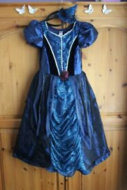 Glamorous Witch Fancy Dress for age 7-8 yrs