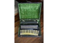 Scandalli Piano Accordion with Custom Case