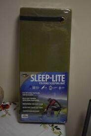 New - BCB Sleep-Lite Folding Sleeping Mat