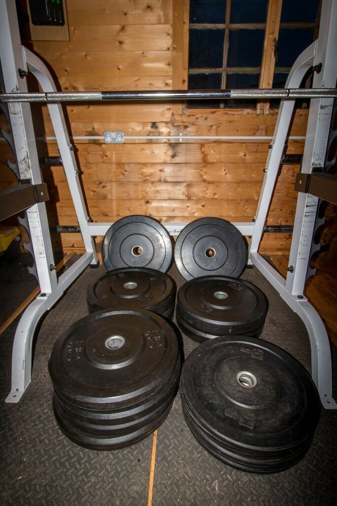 Olympic Bumper Weight Plates Amp Olympic Bar 200kg In Total