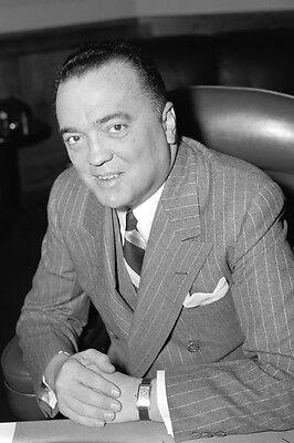 New 5x7 Photo: J. Edgar Hoover, Federal Bureau of Investigation (FBI)