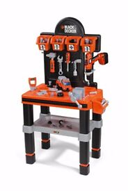 Black & Decker Toy Workbench & Tools (used) - Collection Only
