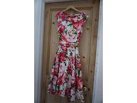 Laura Ashley Summer Dress Size 10 - NEAR NEW