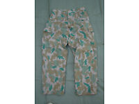NEW - East German Army NVA DDR Flachentarn Blumentarn Camo Trousers