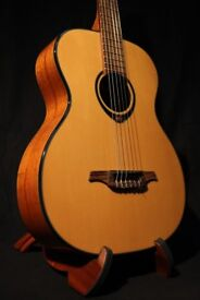 LAG TN66A Auditorium Nylon Classical Acoustic Guitar, Spruce Top, Mahogany Back and Sides
